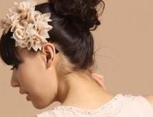 適合花苞頭髮型髮飾 精致細膩時尚唯美