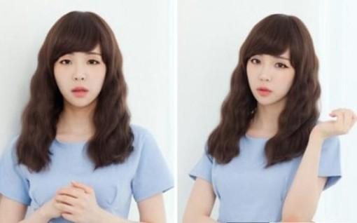 女生长脸发型图片大全 长脸适合什么发型和刘海