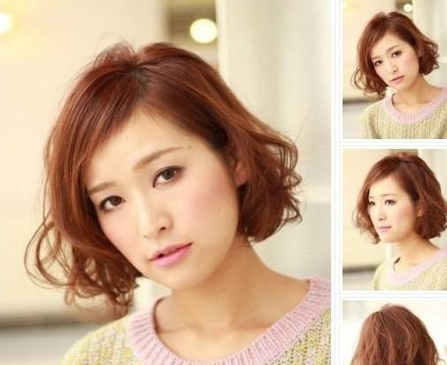 圆脸女生超短发发型 2016女圆脸短直发发型图片