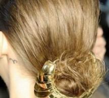 個性髮飾爬上頭 優雅氣質擋不住