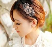 韓式髮箍 閃亮水鉆打造俏麗小公主
