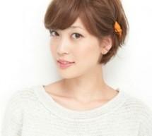 短髮怎么扎好看 橙色髮飾吸睛