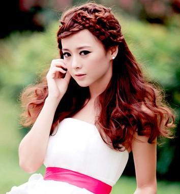 2014最新韩式新娘发型图片