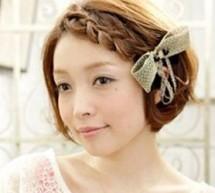 用絲巾扎頭髮時尚靚麗