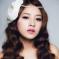 2014新娘髮型 彰顯迷人氣質