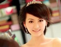 新娘復古盤髮 高貴優雅