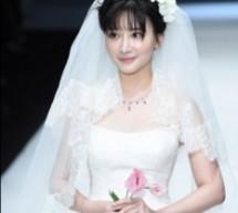 明星婚紗造型 演繹甜美新娘風