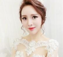 甜美韓式新娘盤髮 給力推薦