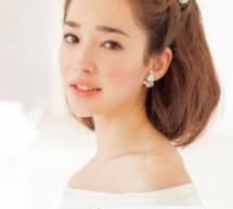 中長髮新娘髮型 唯美氣質