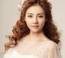 浪漫新娘卷髮造型 唯美魅力