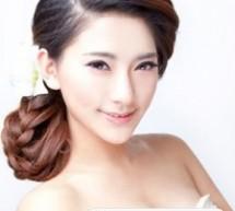 韓式側邊新娘髮型 唯美隨意