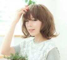 韓式最流行中短卷髮 甜美少女風