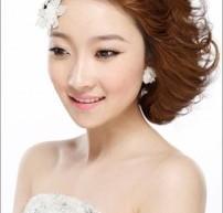 韓式手抓新娘髮型 隨意而自然