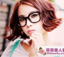 韓式中短髮髮型 簡單時尚