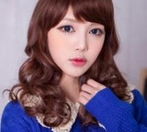 韓國女生髮型盡顯時尚甜美