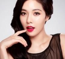 韓國漂亮晚裝髮型 優雅女神