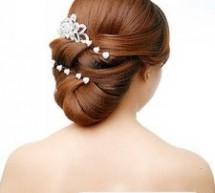 流行新娘盤髮 做高貴典雅新娘