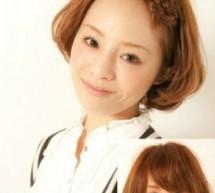 簡單日系瀏海編髮更顯可愛感
