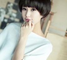 女生可愛波波頭短髮 清新甜美