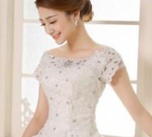 穿婚紗新娘髮型 浪漫完美婚禮