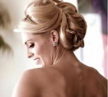 歐美風新娘髮型 簡約而不簡單