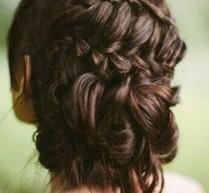 韓式新娘髮型扎髮步驟圖片