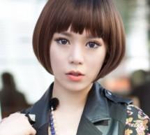 女生圓臉短髮打造冬日最佳髮型