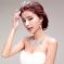 2015年新娘戴皇冠髮型  優雅迷人