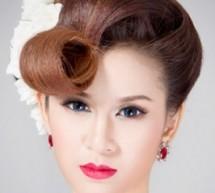 新娘髮型教程 打造高貴范新娘