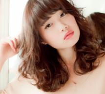 女生胖圓臉中長髮髮型 甜美時尚