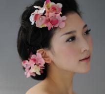 2015新娘盤髮優雅端莊顯大氣