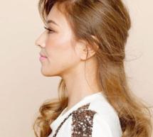 大卷髮型優雅公主頭輕松顯氣質