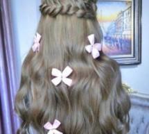 最新流行韓式小清新編髮優雅時尚