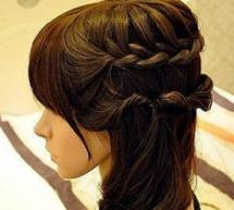 女生編髮簡單幾步打造唯美