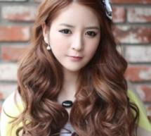 韓式長卷髮展現迷人優雅氣質