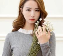 韓國網紅李娥燈街拍髮型甜美減齡